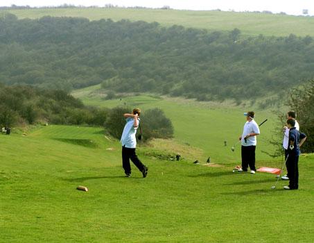 kids learn golf in ireland