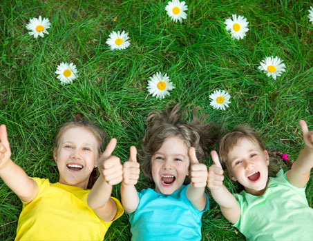 happy kids learning english in ireland