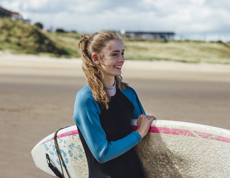 surfing in ireland